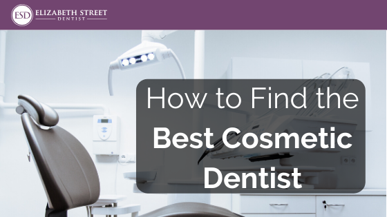 how to find the best cosmetic dentist
